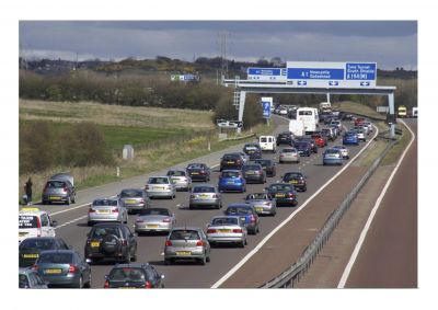 Increasing number of road users on Great Britain's roads